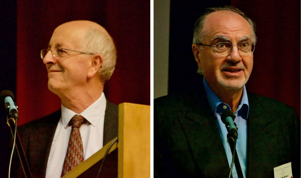 (Left) Philip Walker - New Light on the Arab Revolt and the Forgotten Few Who Shaped It; (Right) Professor Ali Allawi - Feisal and the Arab Revolt